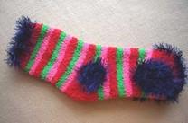 Свитер для щенка миниатюрной породы из носка